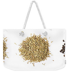 Dried Herbs And Spices Weekender Tote Bag