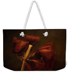 Dried Tulip Blossom 2 Weekender Tote Bag
