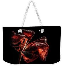 Dried Tulip Blossom Weekender Tote Bag