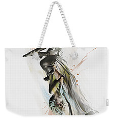 Drift Contemporary Dance Two Weekender Tote Bag by Galen Valle