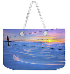 Weekender Tote Bag featuring the photograph Drifting Away by Dan Jurak