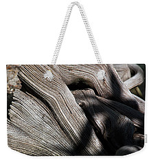 Driftwood Abstract Weekender Tote Bag by Kenneth Albin