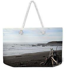 Driftwood And Moonstone Beach Weekender Tote Bag