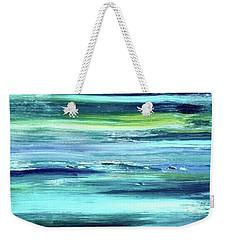 Driftwood Blue Weekender Tote Bag