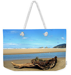 Driftwood Garden Weekender Tote Bag by Will Borden