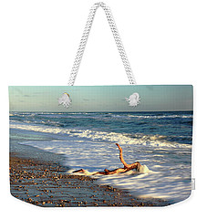Driftwood In The Surf Weekender Tote Bag by Roupen  Baker