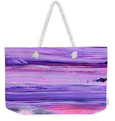 Driftwood Purple Weekender Tote Bag