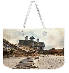 Weekender Tote Bag featuring the photograph Driftwood by Robin-Lee Vieira