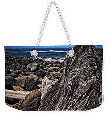 Driftwood Rocks Water Weekender Tote Bag by Thom Zehrfeld