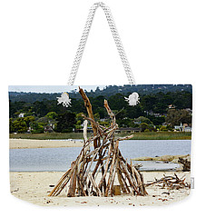 Driftwood Tipi With A View Weekender Tote Bag