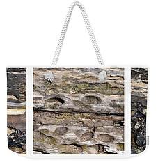 Driftwood Triptych Weekender Tote Bag