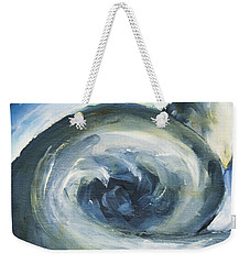 Weekender Tote Bag featuring the painting Driftwood by Yulia Kazansky