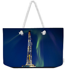 Drilling Rig Saskatchewan Weekender Tote Bag