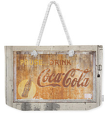 Weekender Tote Bag featuring the photograph Drink Coca Cola by Mark Greenberg