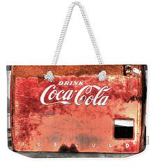 Drink Ice Cold Coca Cola Weekender Tote Bag