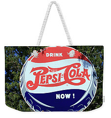 Drink Pepsi - Cola Now  Weekender Tote Bag