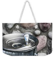 Drinking Fountain Weekender Tote Bag