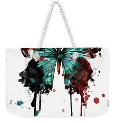 Dripping Butterfly Weekender Tote Bag