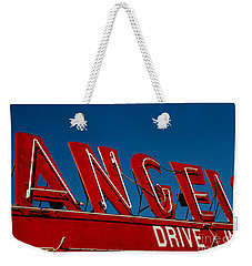 Drive In- California  Weekender Tote Bag