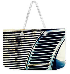 Driven To Abstraction Weekender Tote Bag by Caitlyn Grasso