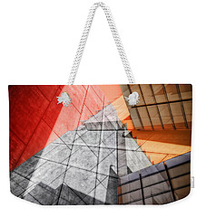 Driven To Abstraction Weekender Tote Bag