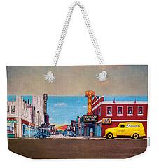 Driving Down The Memory Lane Weekender Tote Bag