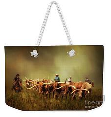 Driving The Herd Weekender Tote Bag
