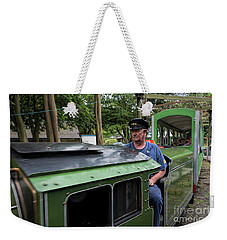 Driving The Scaarborough Express  Weekender Tote Bag