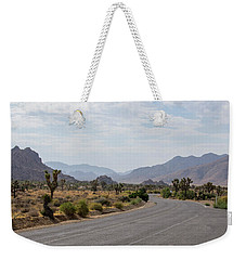 Driving Through Joshua Tree National Park Weekender Tote Bag