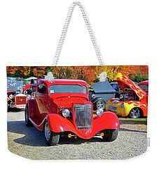 Driving To The Show Weekender Tote Bag by Mike Martin