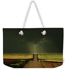 Driving Toward The Daylight Weekender Tote Bag