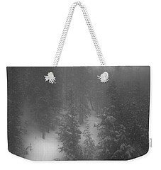 Weekender Tote Bag featuring the photograph Drop In by Mark Ross