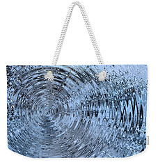 Weekender Tote Bag featuring the photograph Drop In The Bucket by Kristin Elmquist