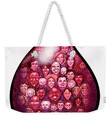 Drop Of Blood Weekender Tote Bag