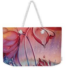 Drop Of Love Weekender Tote Bag by Anna Ewa Miarczynska