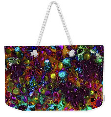 Droplet Abstract Weekender Tote Bag by Stuart Turnbull