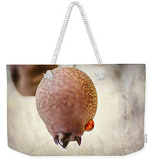 Droplet On A Bud Weekender Tote Bag