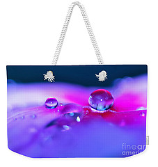 Droplets In Fantasyland Weekender Tote Bag by Kaye Menner