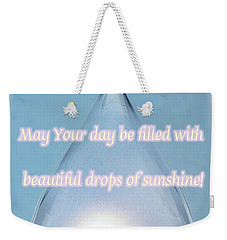 Drops Of Sunshine Weekender Tote Bag