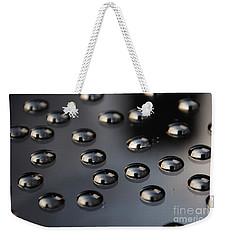 Drops Of Water -macro Weekender Tote Bag