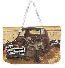 Drought And '51 Studebaker Weekender Tote Bag