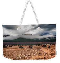 Weekender Tote Bag featuring the photograph Drought by Ryan Manuel
