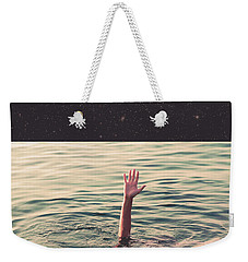 Drowned In Space Weekender Tote Bag by Fran Rodriguez