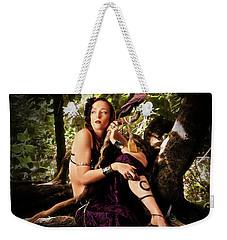 Druid In The Wood Weekender Tote Bag