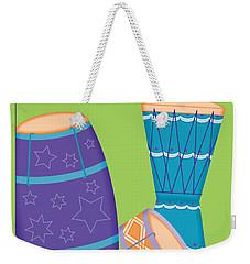 Drums - Thoreau Quote Weekender Tote Bag