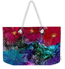 Drunken Flowers Weekender Tote Bag
