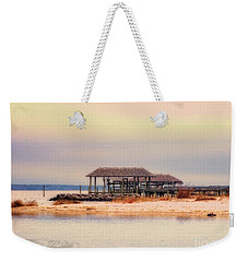 Weekender Tote Bag featuring the photograph Dry Dock  by Melissa Messick