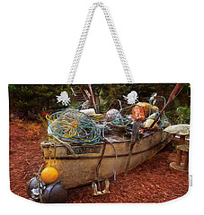 Weekender Tote Bag featuring the photograph Dry Dock Art by Thom Zehrfeld