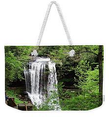Dry Falls In The Spring Weekender Tote Bag