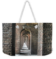 Dry Tortugas - Fort Jefferson - Doorways Weekender Tote Bag